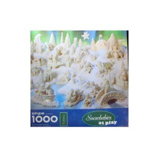 New sealed Snowbabies at play 1000 piece puzzle